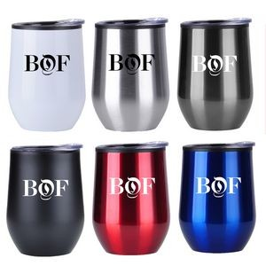 12 Oz. Stainless Steel Wine Cup